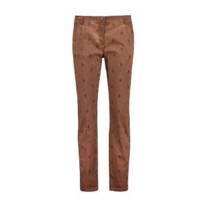 Expresso broek Jaira red brown