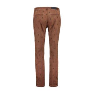 Expresso broek Jaira rood bruin