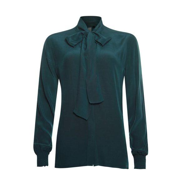 Poools blouse Bow 933180 met lange mouwen