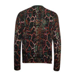 Poools blouse 933254 groen en rood