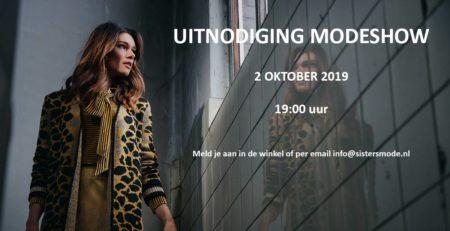 Modeshow met een presentatie van de herfst en winter collectie 2019