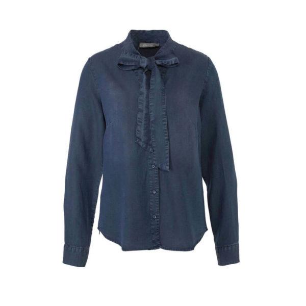 Geisha blouse 93507 in de kleur blauw