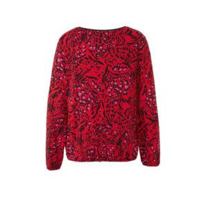 Geisha shirt 93516 luipaard dessin