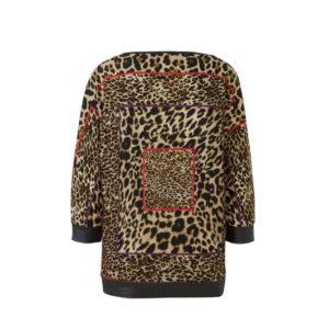 Geisha shirt 93693 panter dessin achterpand