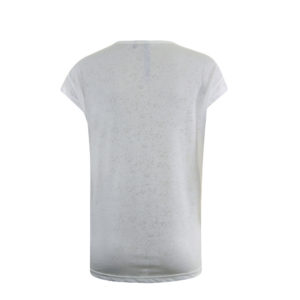 Poools shirt gebroken wit