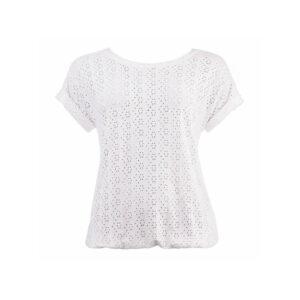 NED T-shirt Brisia Ajour Tricot