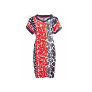 NED jurk Anima Fierry Red Stripe Tricot